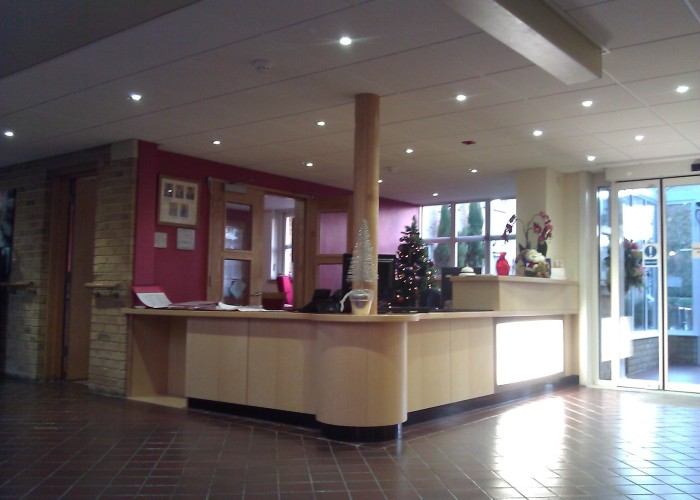 Reception Area Refit Finished