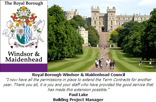 Royal Borough of Windsor and Maidenhead Council Testimonial Image